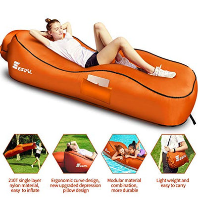 2020 Ergonomic Inflatable Lounger