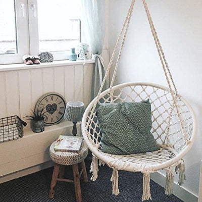 Handmade Knitted Hanging Chair for Babies