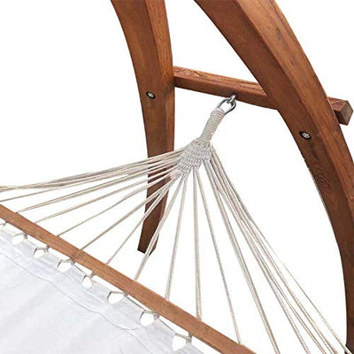 Environmentally Friendly Wood Casual Outdoor Wooden Hammock Bed