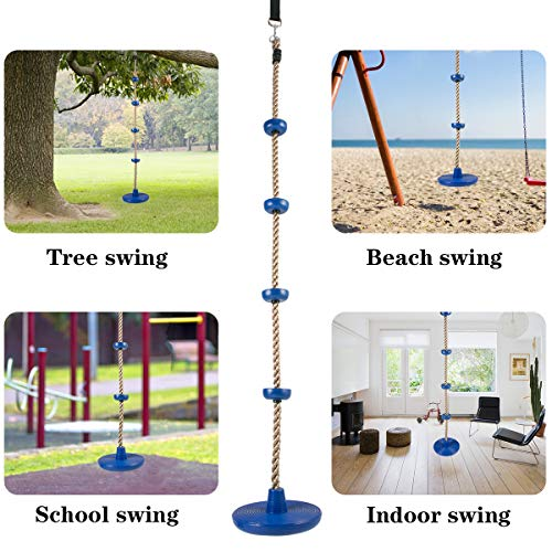 Kids Climbing Rope Tree Swing Set