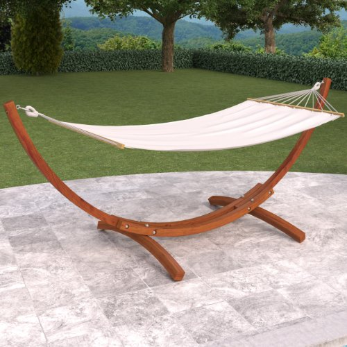 Wood Patio Hammock