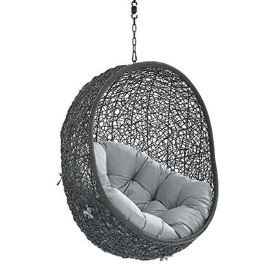 Modway Hide Outdoor Patio Lounge Egg Chair Without Stand