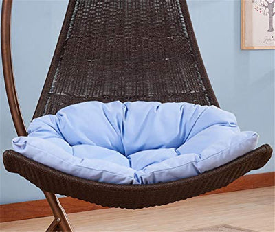 Secret night Crescent Moonchair Rattan Hanging Chair Garden Swing Chair