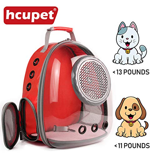 Hcupet Space Airline Approved Capsule Bubble Cat Backpack