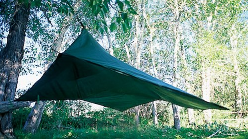 Crazy Creek B.A. Tarp Lite: Forest Green