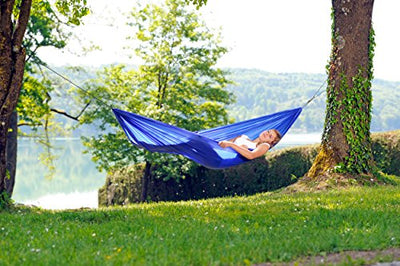 Traveller Lite Blue: Ultralight Camping Hammock