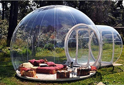 Stargaze Outdoor Single Tunnel Inflatable Bubble Camping Tent (X-Large)