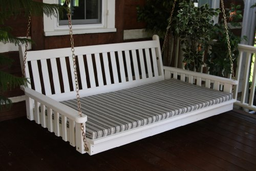 Outdoor 6' Traditional English Swing Bed