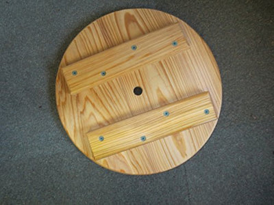 Cypress Wood Disc Tree Swing