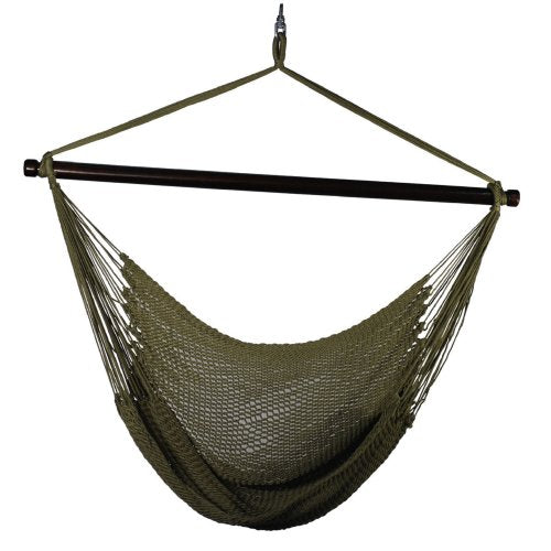 hanging polyester rope chair algoma    pany   lounging rope  u0026 quilted hammocks   hammock town  rh   hammocktown