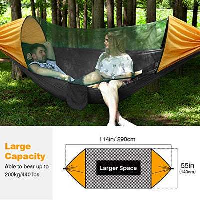 Camping Lay Flat Hammock with Net