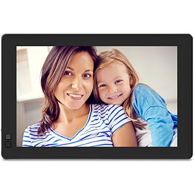 Nixplay Seed 13 Inch Digital Wi-Fi Photo Frame W13B Black - Digital Picture Frame with IPS Display and 10GB Online Storage, Display and Share Photos with Friends via Nixplay Mobile App