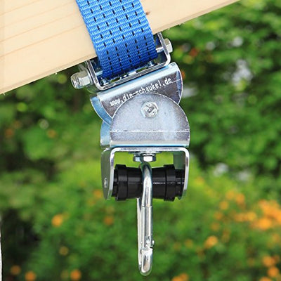 MARATHON Swing Hanger - Heavy duty hanger with Ball Bearing Technology up to 60 min continuous moving
