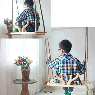 Wooden Swing Seat for Kids