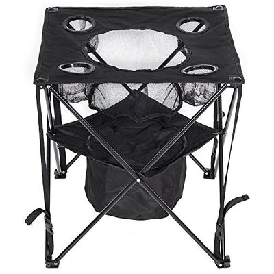 LazyDaze Hammocks Patio Outdoor Foldable & Portable Tailgate Table