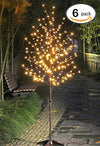 Lightshare LED Blossom Tree,6 of Pack,6-Feet, Warm White