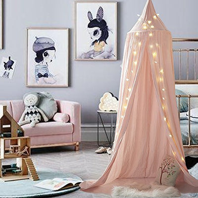 Beau Mu0026M Mymoon Girls Bed Canopy Reading Nook Tent Dome Mosquito Net Hanging  Decoration Indoor Game House