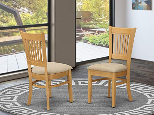 Padded Parson Chair dining chair set of 2