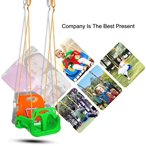 3-in-1 Toddler Swing Seat Infants to Teens
