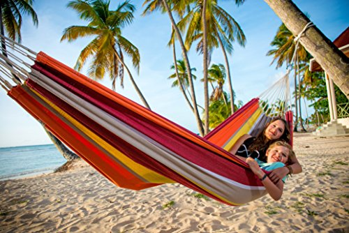 Barbados Single Brazilian Hammock: Acerola