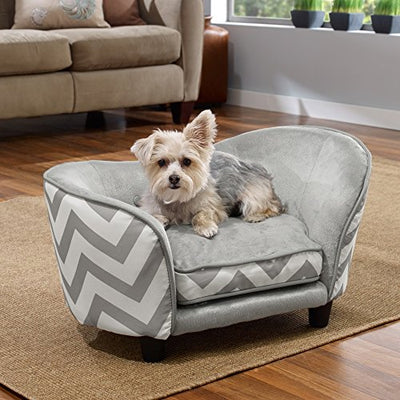Enchanted Home Pet Snuggle Pet Sofa Bed: Gray