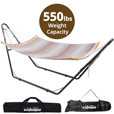 Zupapa Foldatable Hammock with Stand 2 person