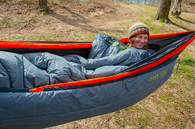 ENO, Eagles Nest Outfitters Vesta TopQuilt Water-Repellent and Insulated Hammock Blanket, Storm