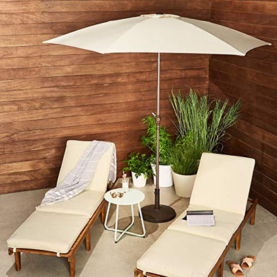 AmazonBasics Patio Umbrella: Beige