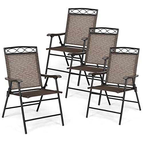 Outdoor Dining Chairs for Backyard, Deck
