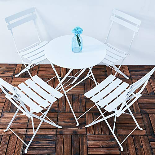 Grand patio 3pc Metal Folding Bistro Set