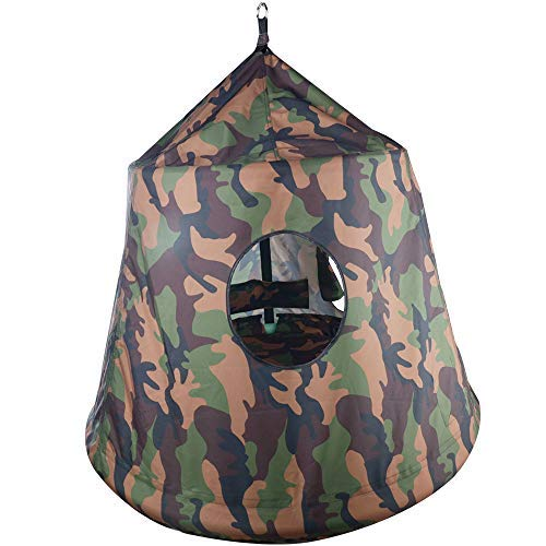 Hanging Waterproof Tree Pod: Army Green
