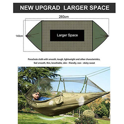 ANYOTA Camping Hammock with Net