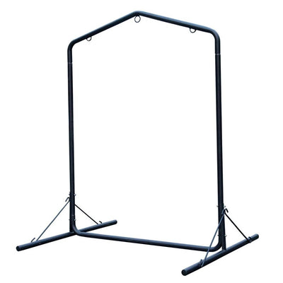 Deluxe Hammock Chair Steel Stand with Heavy Duty Coated Frame