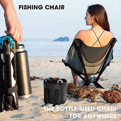 Cliq Beach Chairs- Multipurpose Fishing or Hunting Chair