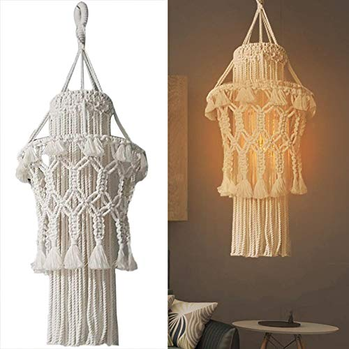 Macrame Hand-Knitted Lamp Shade