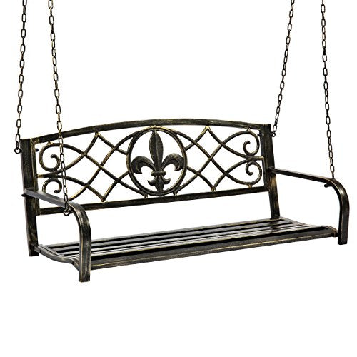 Best Choice Products Hanging Patio Porch Swing