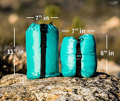 COOP HOME GOODS - Adjustable Travel and Camping Pillow