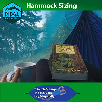 Ridge Outdoor Gear Camping Hammock with Mosquito Net