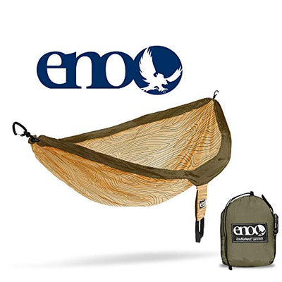 ENO DoubleNest Print Portable Hammock for Two