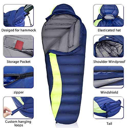 Ultralight Down Hammock Underquilt Sleeping Bag Hammock