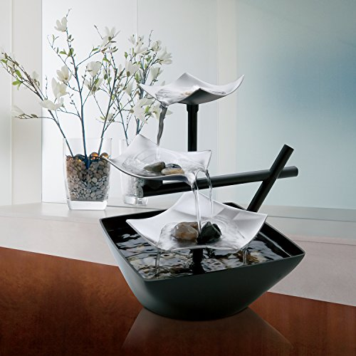 Table Fountain: Black