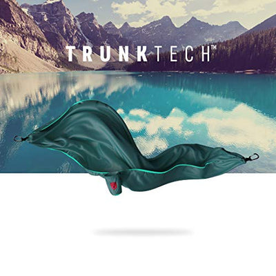 Grand Trunk Trunktech Double Hammock: Teal/Turquoise