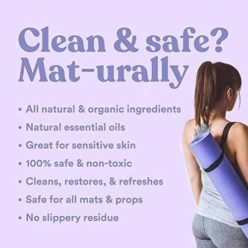 ASUTRA Natural & Organic Yoga Mat Cleaner