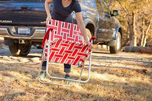Classic Reinforced Aluminum Webbed Folding Lawn/Camp Chair