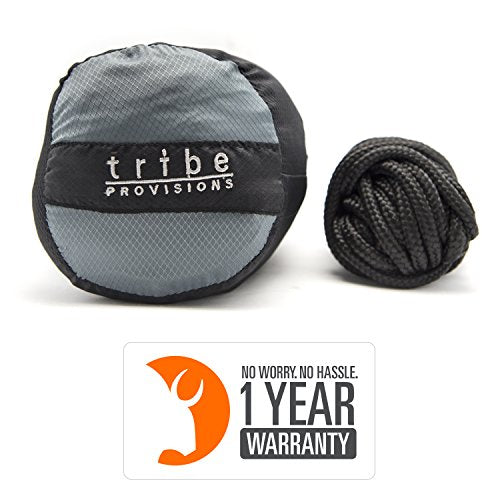 Tribe Provision Single Person Adventure Hammock: Black