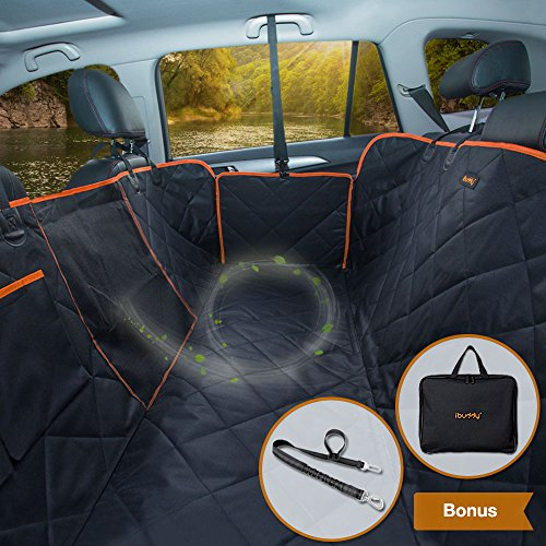 Pet Car Hammock >> Ibuddy Dog Car Seat Covers For Back Seat Of Cars Trucks Suv
