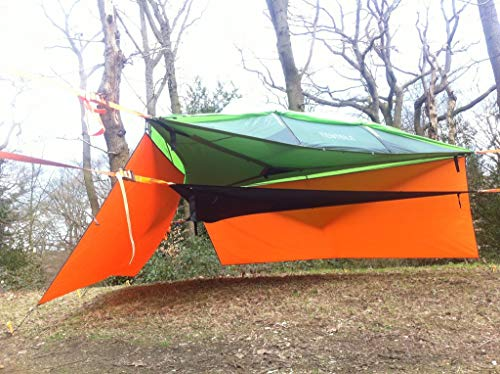 Tentile Tent Wall, Provides Rain Protection and/or Privacy, Camo