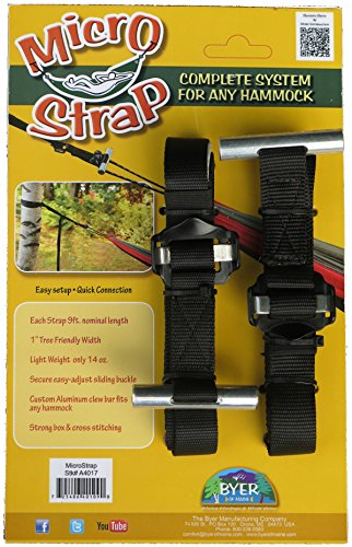 BYER OF MAINE Micro Strap Hang System (Two Straps)