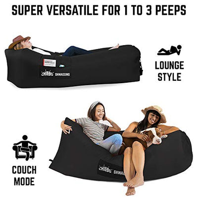 Best Inflatable Lounger Portable Hammock Air Sofa and Camping Chair