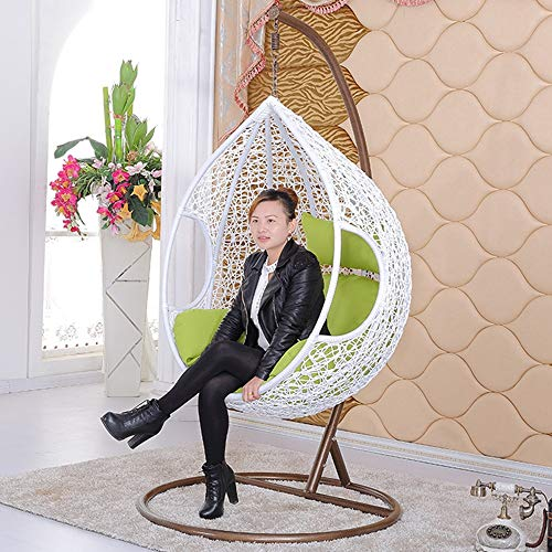 Fabulous Rattan Hanging Swing Chair Rattan Wicker Weave Design Hanging Rocking Chair Up To 150 Kg Suitable For Greenhouses Balconies Patios And Gardens Gamerscity Chair Design For Home Gamerscityorg